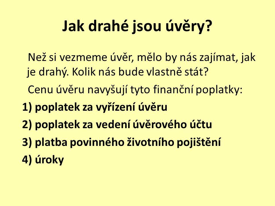 Zdroje: SYROVÝ, Petr.TYL, Tomáš. Osobní finance. 1.