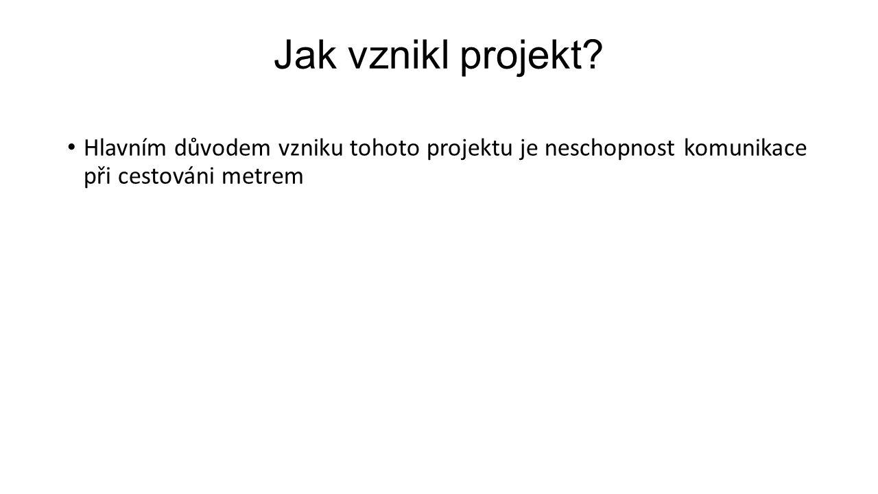 Jak vznikl projekt.