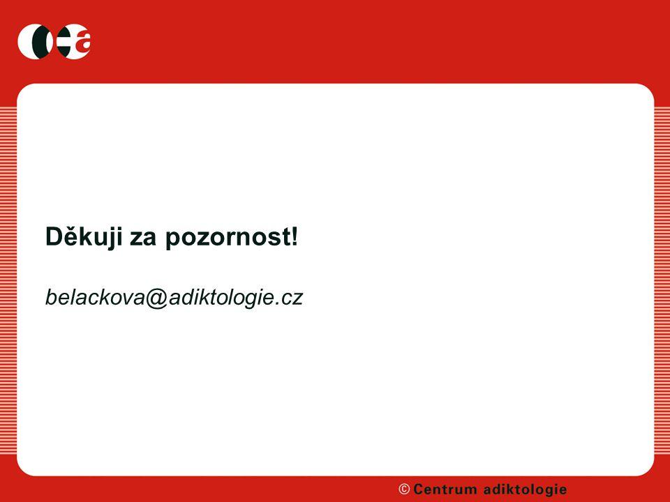 Děkuji za pozornost! belackova@adiktologie.cz