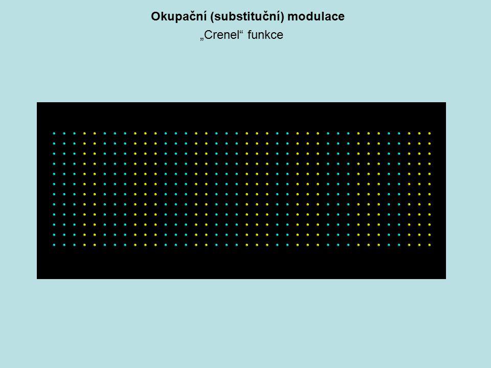 """Okupační (substituční) modulace """"Crenel"""" funkce"""