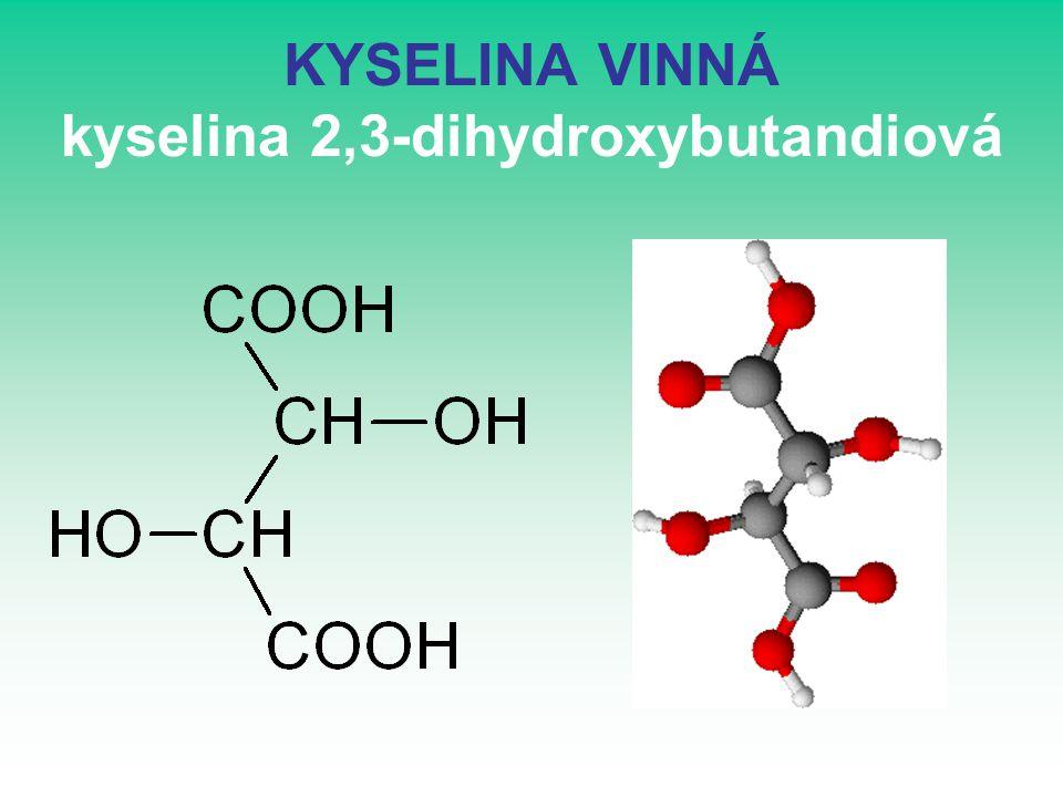 kyselina 2,2,2-trichloroctová CCl 3 COOH