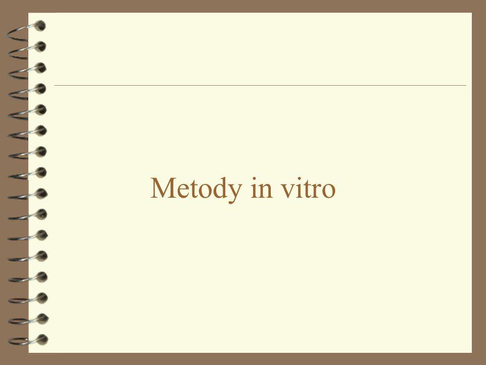 Metody in vitro