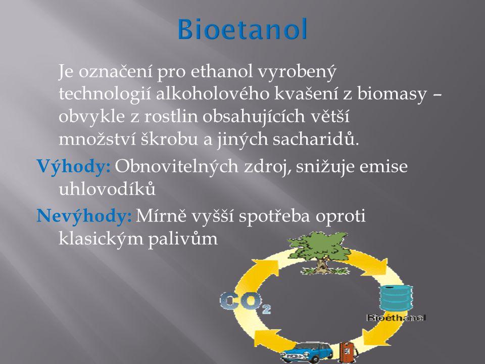 Je označení pro ethanol vyrobený technologií alkoholového kvašení z biomasy – obvykle z rostlin obsahujících větší množství škrobu a jiných sacharidů.