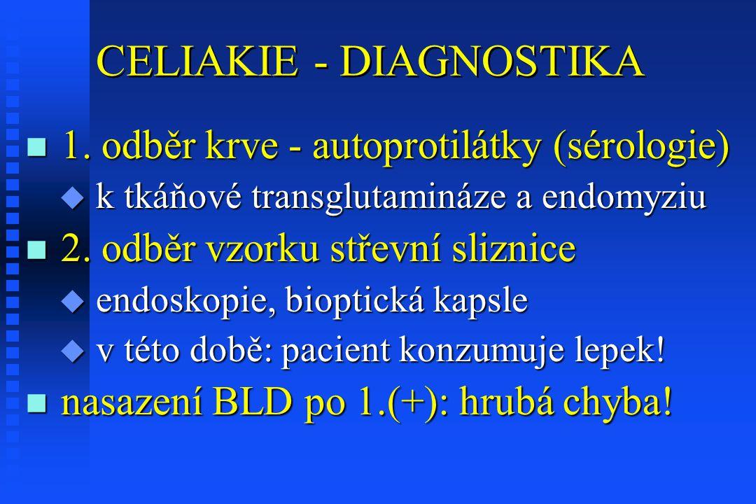 CELIAKIE - DIAGNOSTIKA n 1.