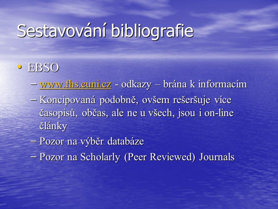 Struktura a formální náležitosti vědeckých textů - doporučení 1) kniha: 1) kniha: PŘÍJMENÍ, JMÉNO.