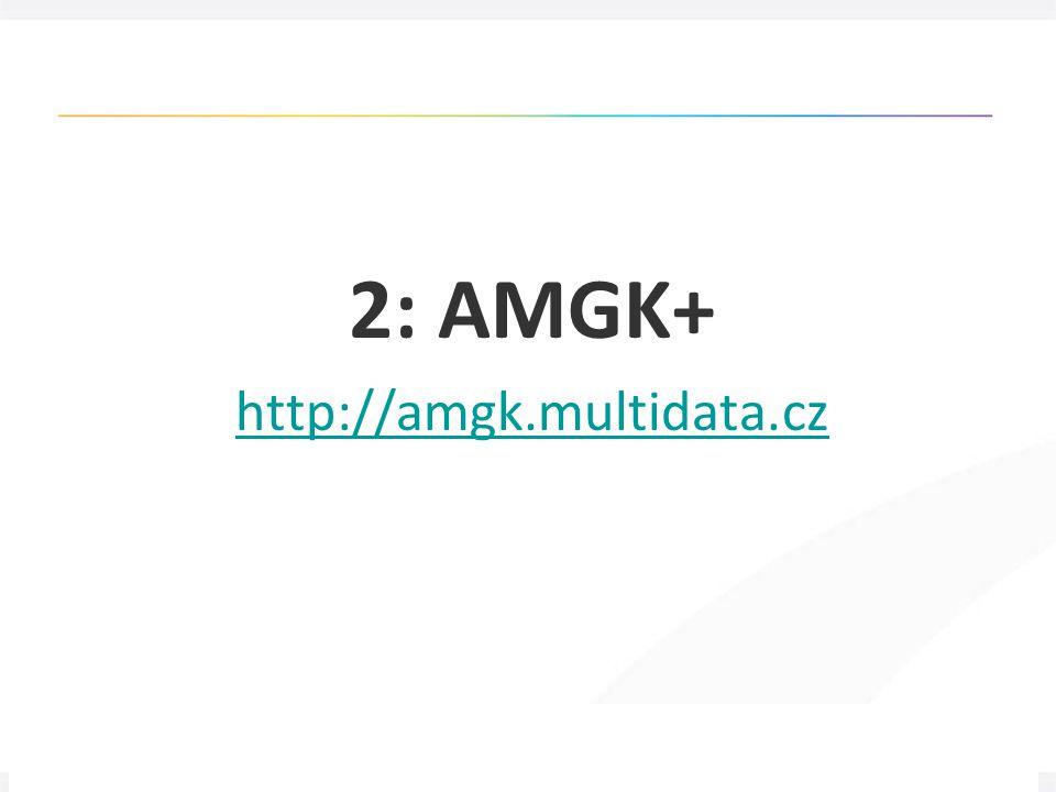 """17 Článková bibliografie """"next-gen , 3. 5. 2012 2: AMGK+ http://amgk.multidata.cz"""