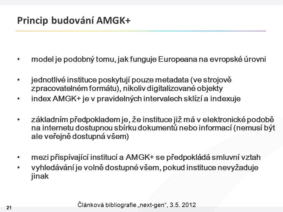 """21 Článková bibliografie """"next-gen , 3.5."""