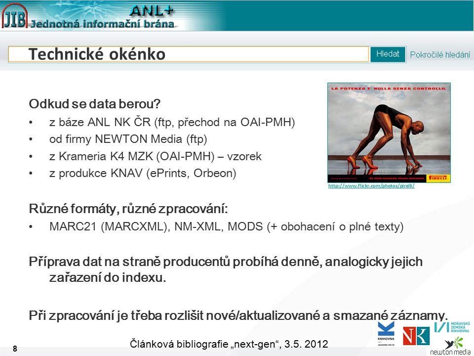 """9 Článková bibliografie """"next-gen , 3.5."""