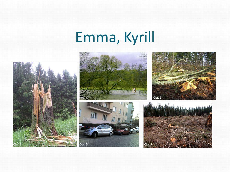 Emma, Kyrill Obr. 3 Obr. 4 Obr. 5Obr. 7 Obr. 6