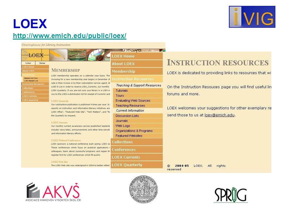 LOEX http://www.emich.edu/public/loex/