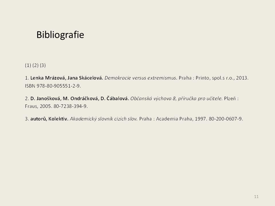 11 Bibliografie