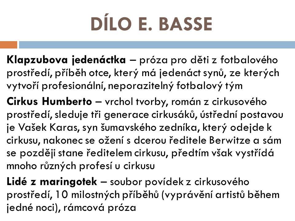 DÍLO E.