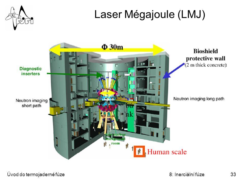 Úvod do termojaderné fúze8: Inerciální fúze33 Laser Mégajoule (LMJ)