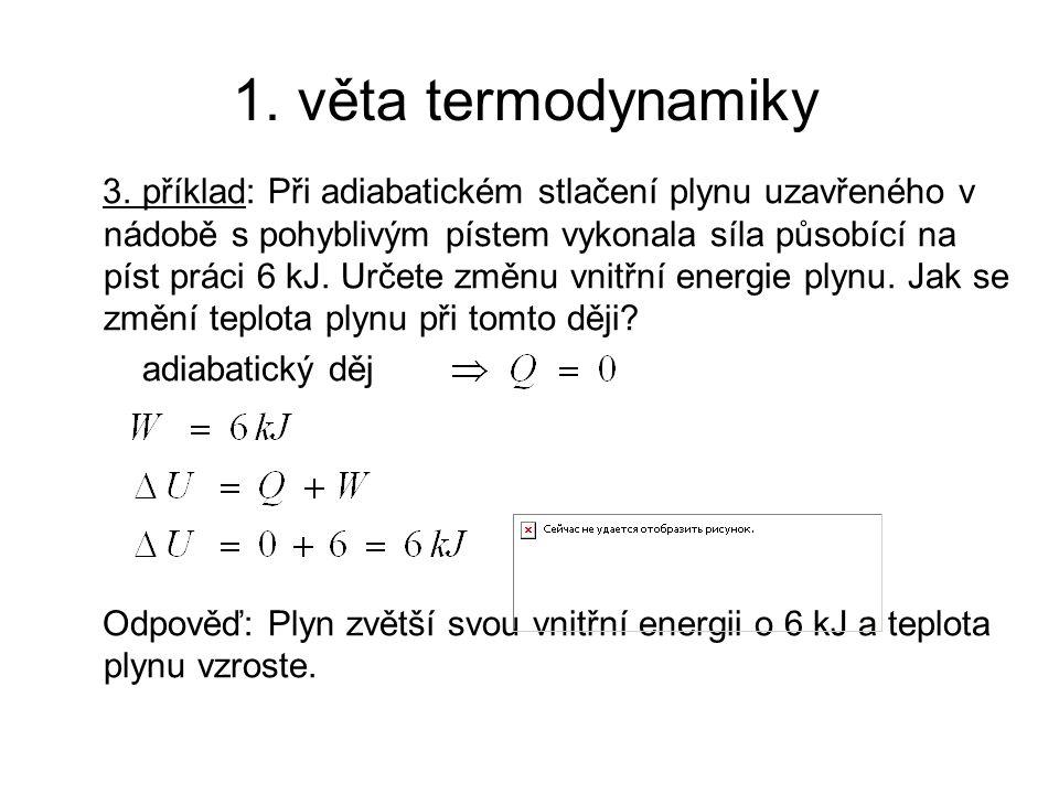 1. věta termodynamiky 3.