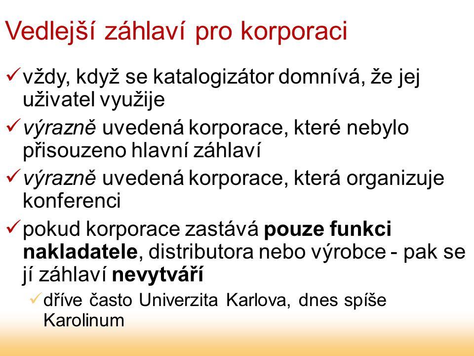 Kvalifikační práce korporace, kde byla obhájena kvalifikační práce - vždy ve vedlejším záhlaví (česká interpretace)