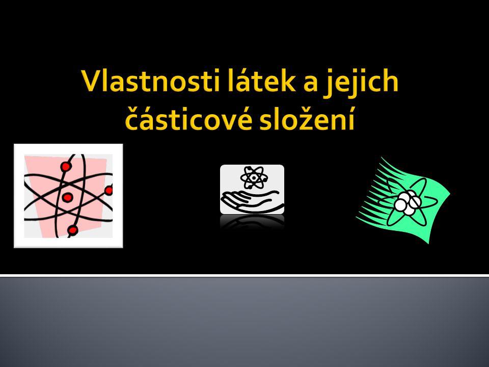 Atom se skládá ze dvou částí – jádra a obalu  Jádro atomu je malé, ale těžké.