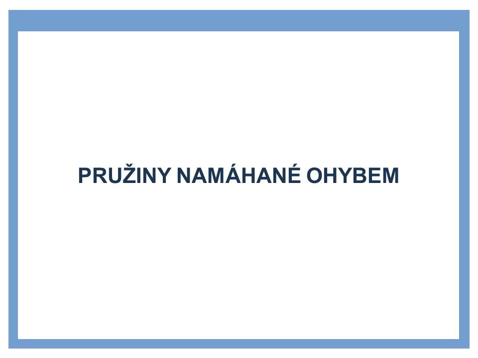 LISTOVÁ PERA (SVAZKY PRUŽNIC) Listová pera