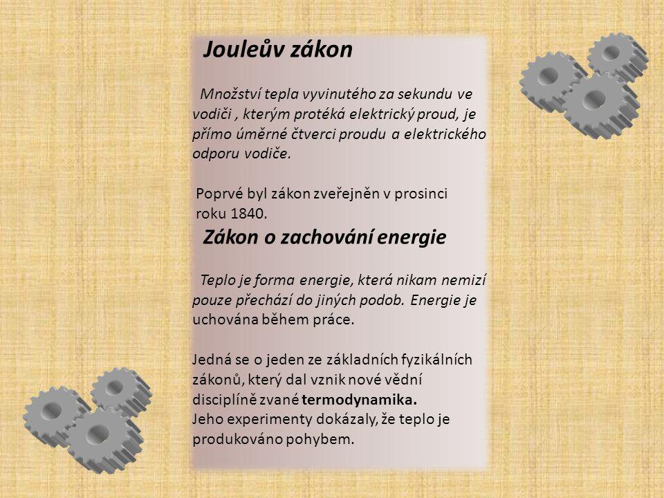 OBJEVY V roce 1846 objevil Joule zajímavý jev, zvaný MAGNETOSTRIKCE.