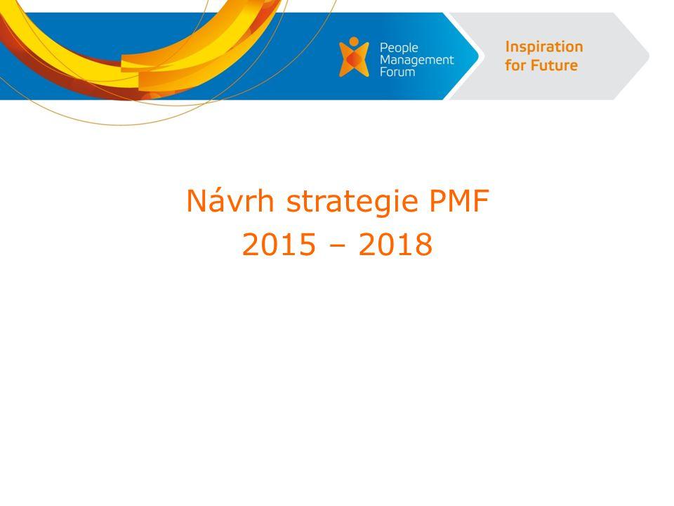 Návrh strategie PMF 2015 – 2018