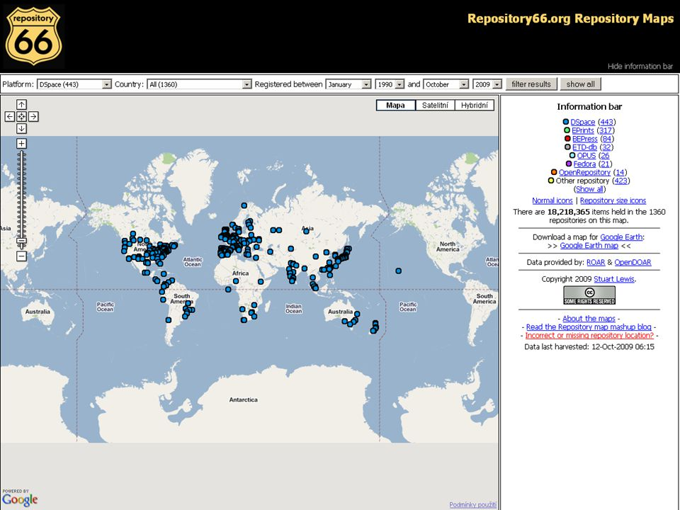 DSUG ´09 setkání komunity uživatelů DSpace 14.– 16.