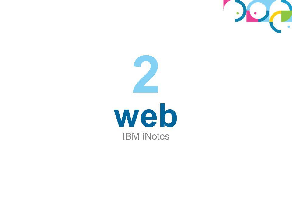 web IBM iNotes 2