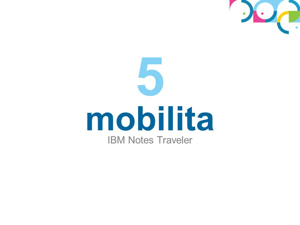 mobilita IBM Notes Traveler 5