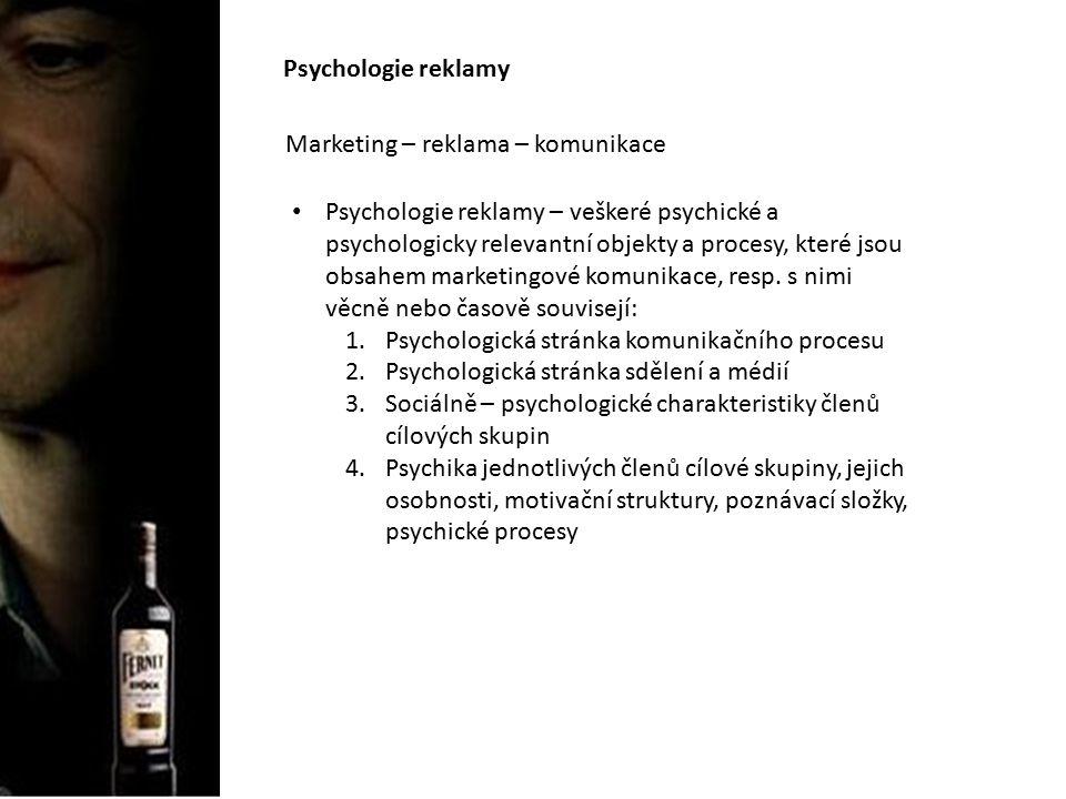 """Psychologie reklamy Reklama """"Každá placená forma neosobní prezentace a nabídka idejí, zboží nebo služeb prostřednictvím identifikovatelného sponzora AMA """"reklamou se rozumí přesvědčovací proces, kterým jsou hledáni uživatelé zboží, služeb nebo myšlenek prostřednictvím komunikačních médií PČR, 1995 """"komerční komunikace konkrétního sponzora, který využívá různých komunikačních platforem jako tisku, rozhlasu, televize, billboardů, satelitu, internetu apod., aby oslovil určité publikum, tj."""