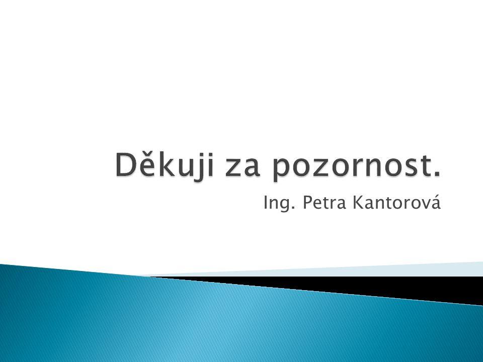 Ing. Petra Kantorová