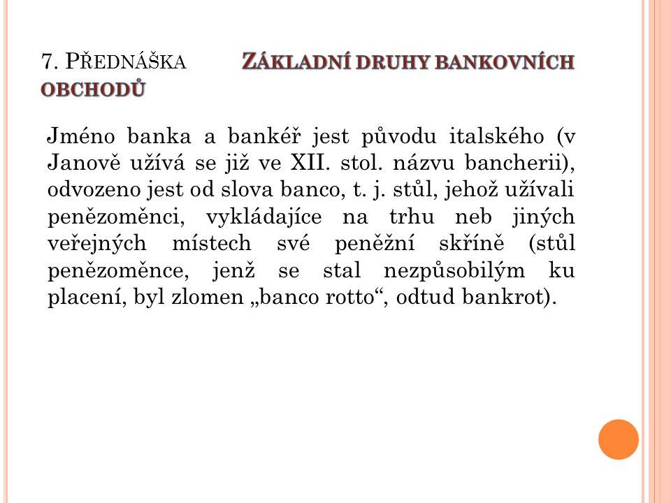 Banka – subjekt, finanční zprostředkovatel, jehož hlavní činností je zprostředkování pohybu finančních prostředků mezi jednotlivými ekonomickými subjekty.