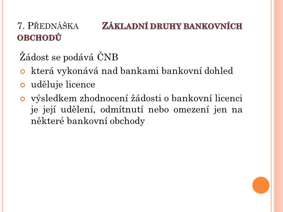 Rezervní fondy a ostatní fondy tvořené ze zisku Tyto fondy banka vytváří ze zdaněného zisku.