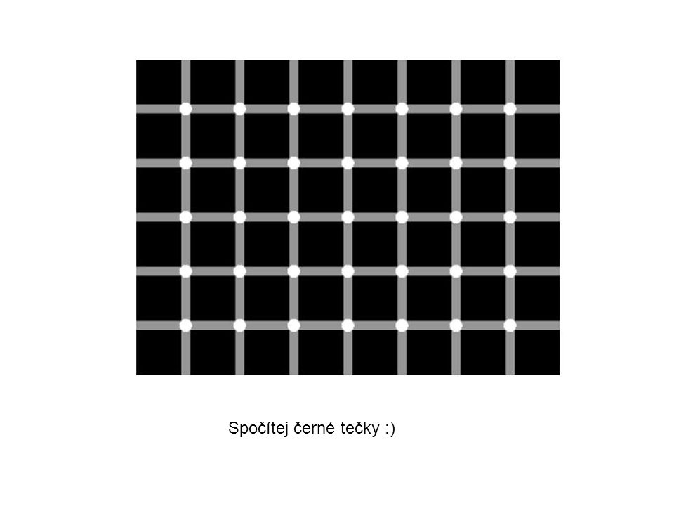 Spočítej černé tečky :)