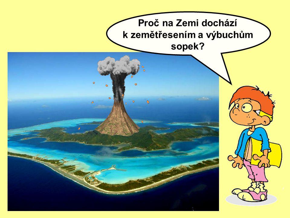 Proč na Zemi dochází k zemětřesením a výbuchům sopek?