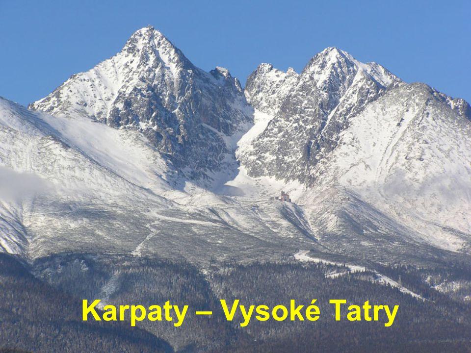 Karpaty – Vysoké Tatry