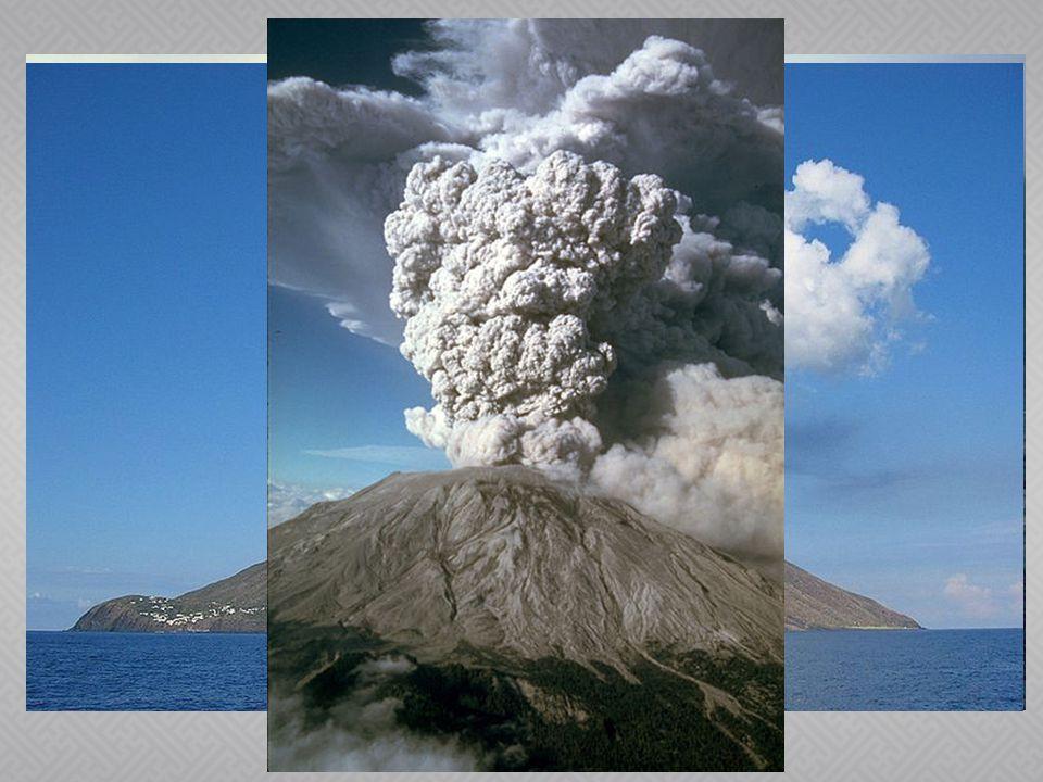  A) Výlevné – láva vytéká různou rychlostí a tvoří lávové proudy → štítové sopky –Mauna Loa  B) Výbušné – vybuchují, protože došlo k ucpání sopouchu utuhlou lávou – zátka, pumy → sypané sopky – Stromboli  C) Smíšené– nejčastější, zemětřesení, dunění, kouř, sopečné pumy, výlev lávy → stratovulkány - Sv.