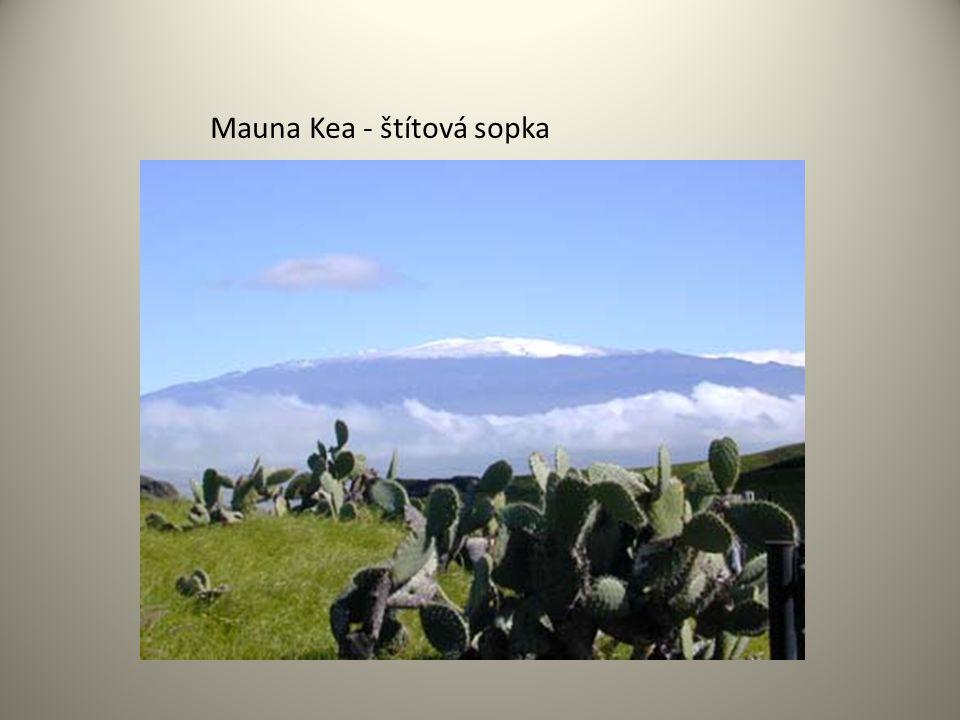 Mauna Kea - štítová sopka