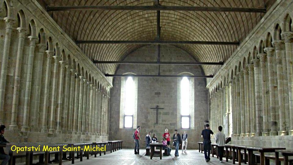 Opatství Mont Saint-Michel
