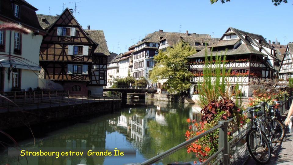Strasbourg ostrov Grande Île, Alsace