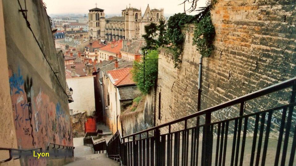 Historický střed Lyonu, Rhône-Alpes