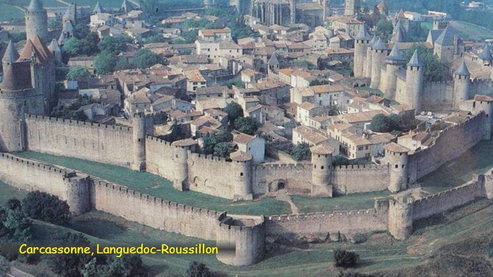 Arles, románské ruiny
