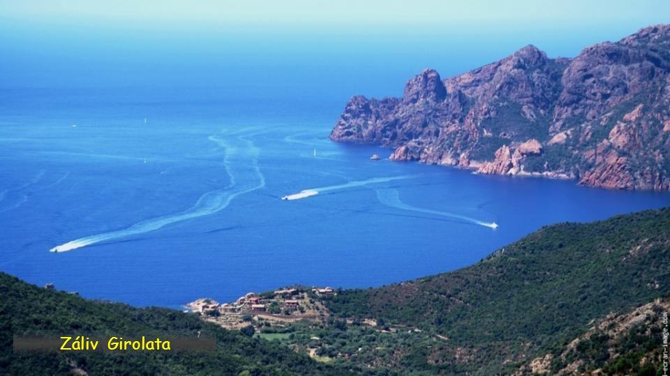 Záliv Girolata, Corse