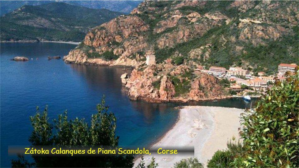 Záliv Le Golfe de Porto, Corse