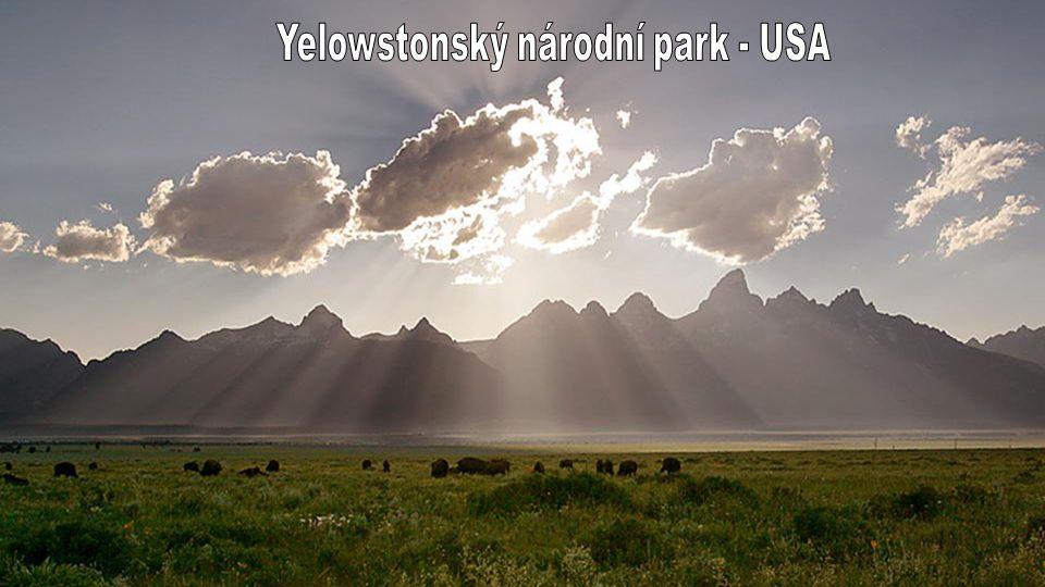Yellowstone National Park ruční prezentace