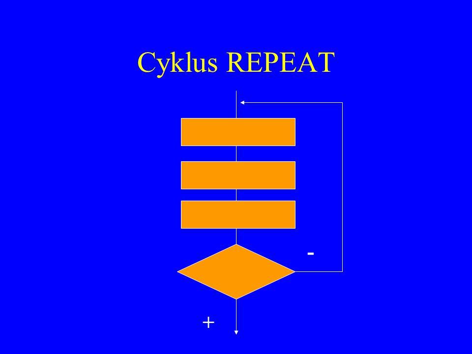 Cyklus REPEAT - +