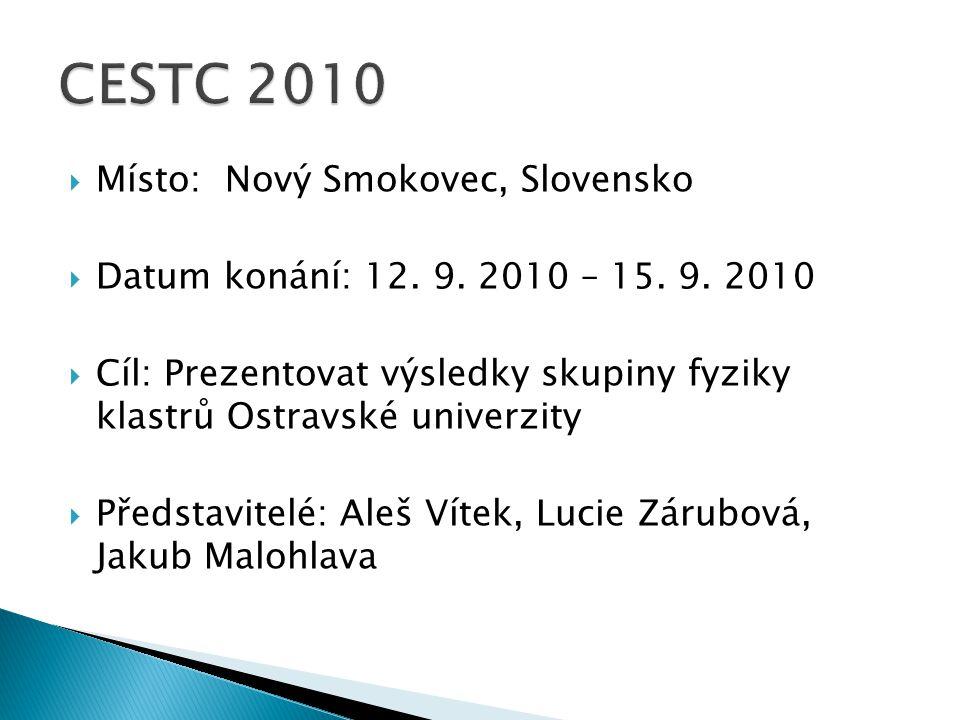 MMísto: Nový Smokovec, Slovensko DDatum konání: 12.