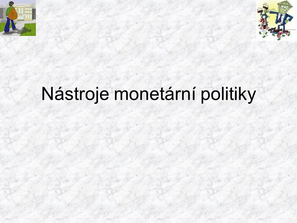 """""""Monetární politika je součástí a nástrojem hospodářské politiky."""