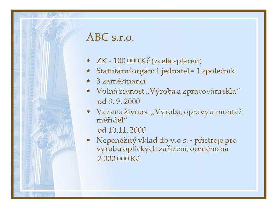 ABC s.r.o.