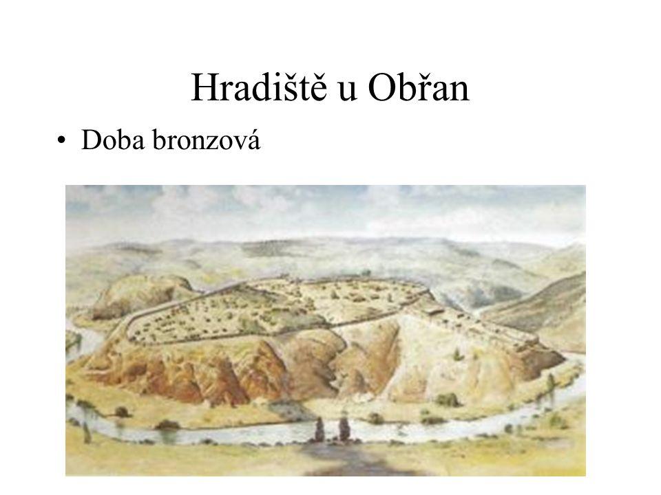 Hradiště u Obřan Doba bronzová
