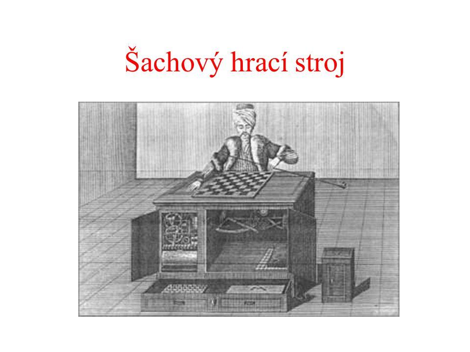 Šachový hrací stroj