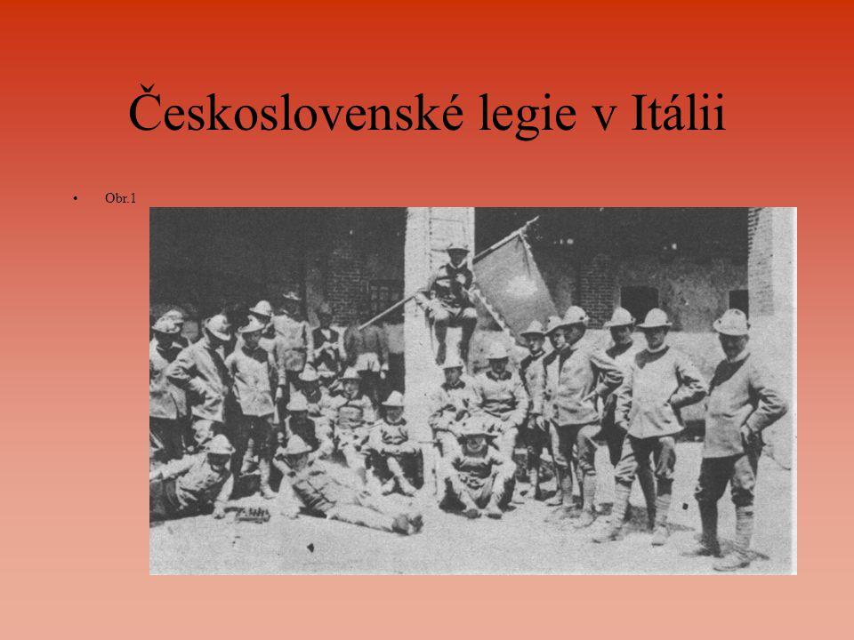 Československé legie v Itálii Obr.1