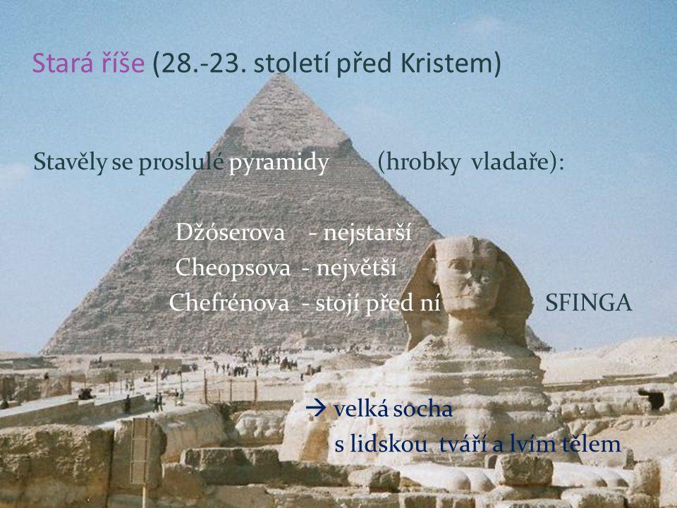Stará říše (28.-23.